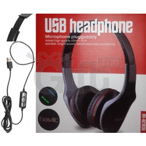 CASQUE USB PC - Havit