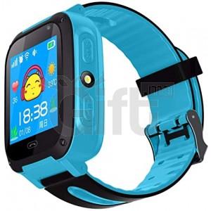 Smart Watch pour enfants - Carte SIM Smart Clock GPS Tracke - Kids Sécurité Smart Watch