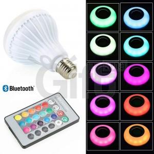 Ampoule LED Avec Haut-Parleur Bluetooth - E27