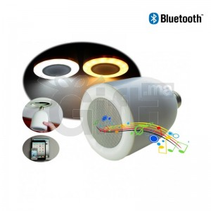 Ampoule LED Avec Haut-Parleur Bluetooth