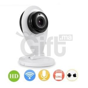 Mini Camera Surveillance IP WiFi HD avec Vision de Nuit