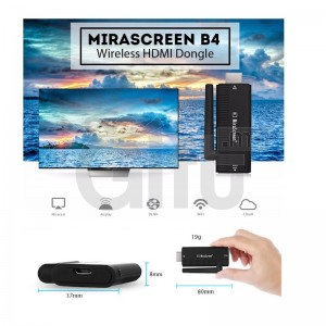 Dongle Mirascreen - Sans-fil HDMI DONGLE 2.4GHz Miracast WiFi Avec Antenne