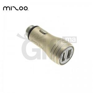 Adaptateur Pour Allume Cigare 2 Port USB - Mizoo CC-16