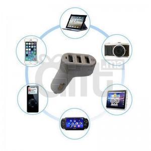 Chargeur De Voitur 3Portt USB - Adaptateur Pour Allume Cigare - MORBEST