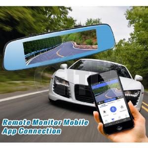 Dashcam - Rétroviseur Voiture 3G/4G avec Écran Tactile 7 pouces