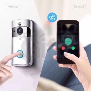 Sonnette & Caméra Vidéo 2 - 720P HD Wifi