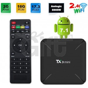 TV Box TX3 Mini Android - Smart TV Box 4K sous Android 7.1