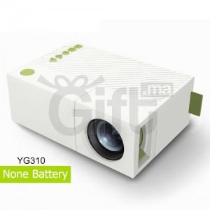 YG310 Projecteur portable à LED HDMI Mini projecteur USB Home Media Player