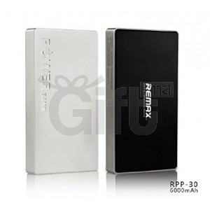 Power Bank Remax double Ports USB 6000Mah