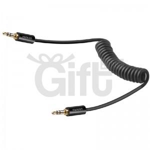 Câble Auxiliaire de voiture mâle à mâle jack 3.5mm coude audio 2000mm