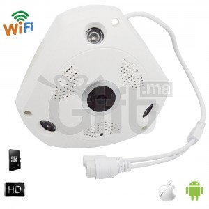 Camera de Surveillance IP Wifi 360° 3MP Vision Nocturne