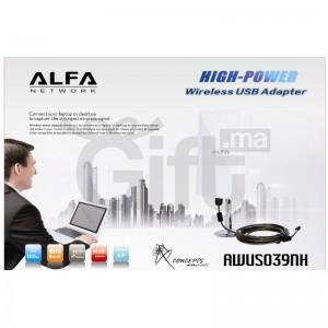 Capteur Adaptateur Wifi - ALFA AWUS039NH 6800 mW