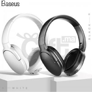 Casque Bluetooth Baseus D02 - Casque Sans Fil Réglable & Pliable
