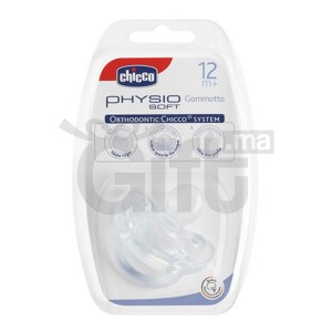 CHICCO – Sucette Physio en Silicone – 12 +