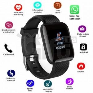 D13 Smart Fitness - Bracelet Tracker Heart Rate Monitor Smartband