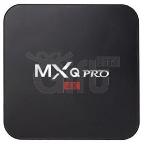 MXQ PRO Mini Android TV Box Smart TV Box sous Android 7.1 compatible 3D, 4K 1GB de RAM 4GB de mémoire de stockage