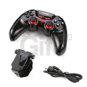 Dobe jeu sans fil Bluetooth Controller gamepad Joystick pour Android IOS Apple Smart Mobile téléphone / Tablet PC