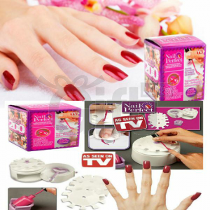 Nail Perfect - Kit d'Application de Vernis et Décoration des Ongles - Manucure