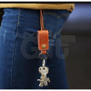 Porte-Clés En Cuir Avec Cable USB Pour iPhone 5S iphone 6 iPad