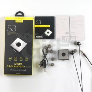 Écouteurs Bluetooth Sport Sans Fil - Remax S3 - Noir