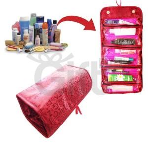 Trousse et Organisateur De Maquillage Enroulable - Roll-N-Go cosmetique sac