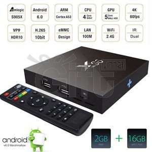 X96 - TV Box - 4K - Android 6.0