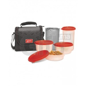 TATCH Repas complet Combi 3 Containers Lunch Box