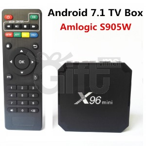 Mini - X96 - TV Box - 4K - Android 7.1 TV - 2 GB 16 GB
