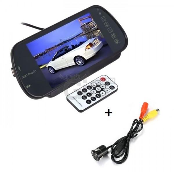 c19796c90a6863 Full HD LED Inverse Parking écran avec Bluetooth MP5 SD Carte USB MP5 Écran  Full HD + Caméra de Recul Arrière