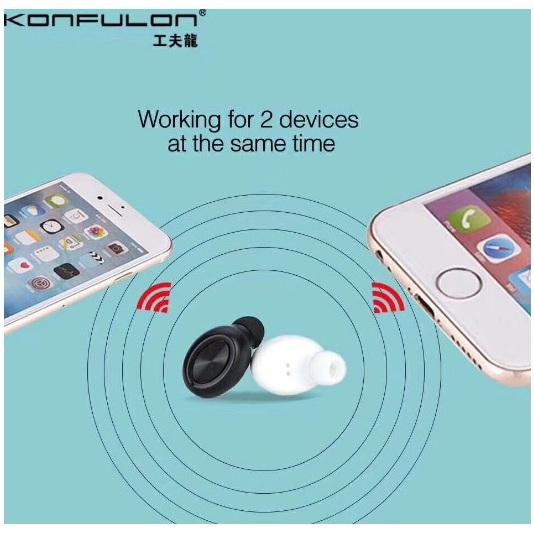 Écouteur Konfulon BT-03 - Chez Gift.Ma Boutique des cadeaux aux meilleurs prix en ligne au Maroc