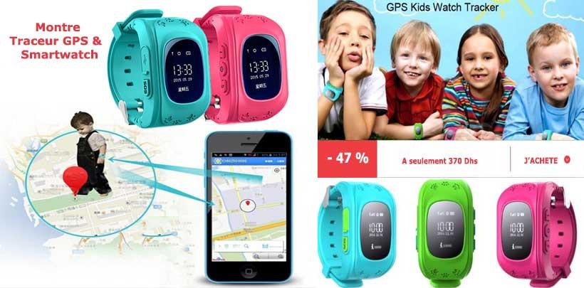 smartwatch montre enfant