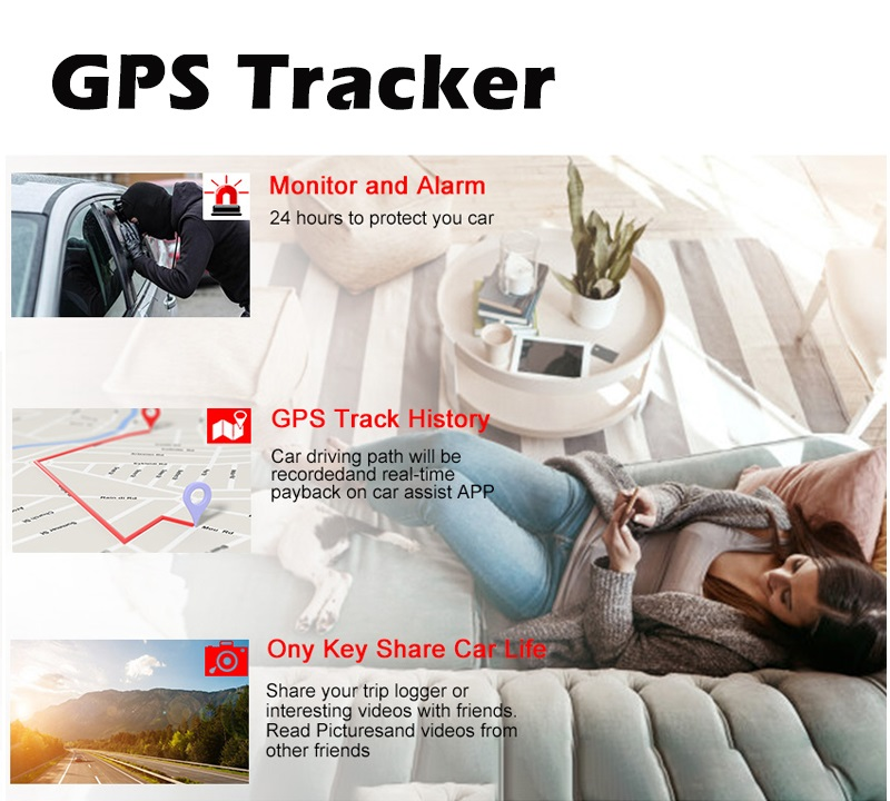4g dascam android GPS