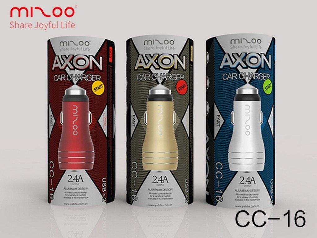 Adaptateur Pour Allume Cigare 2 Port USB - Mizoo CC-16  Chez Gift.Ma Boutique des cadeaux aux meilleurs prix en ligne au Maroc