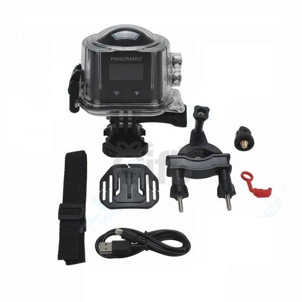 Caméra 3D VR Sports - 6MP 4K 360° Panoramique  Enregistré des vidéo haute définition 3D; chez gift.ma boutique de Cadeaux