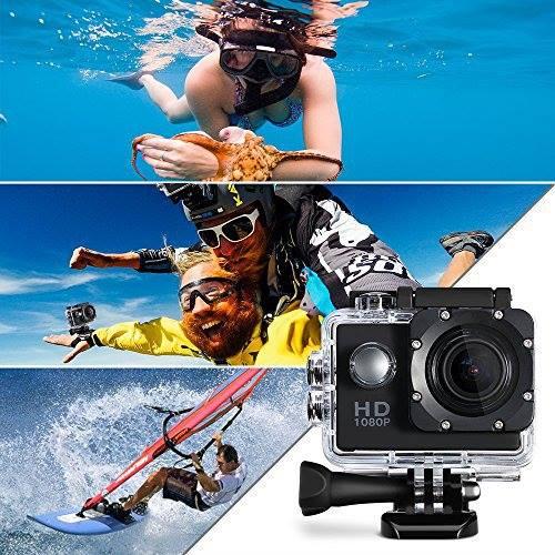 Waterproof 4K Ultra HD 1080P - CAMÉRA SPORT FULL HD ÉTANCHE - WIFI Chez Gift.Ma Boutique des cadeaux aux meilleurs prix en ligne au Maroc