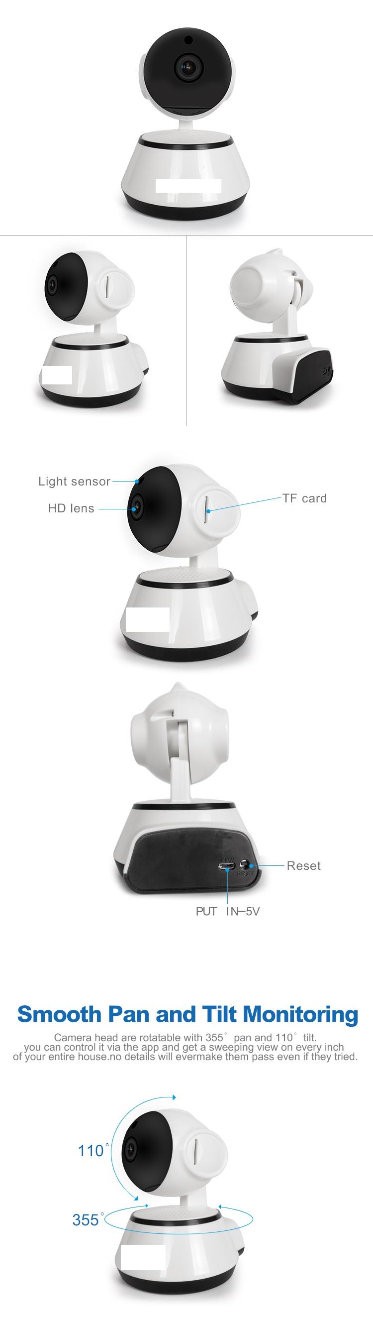 Camera pour Chien à la maison sans antenne