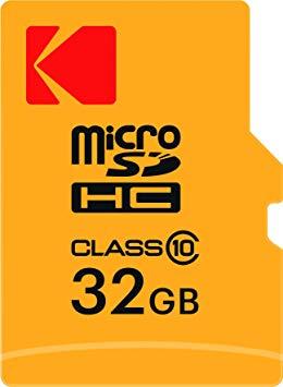 Carte mémoire Kodak Micro SDHC 32 Go + adaptateur - Classe 10 Offres au Maroc aux meilleurs prix sur votre site de cadeaux - Gift.ma