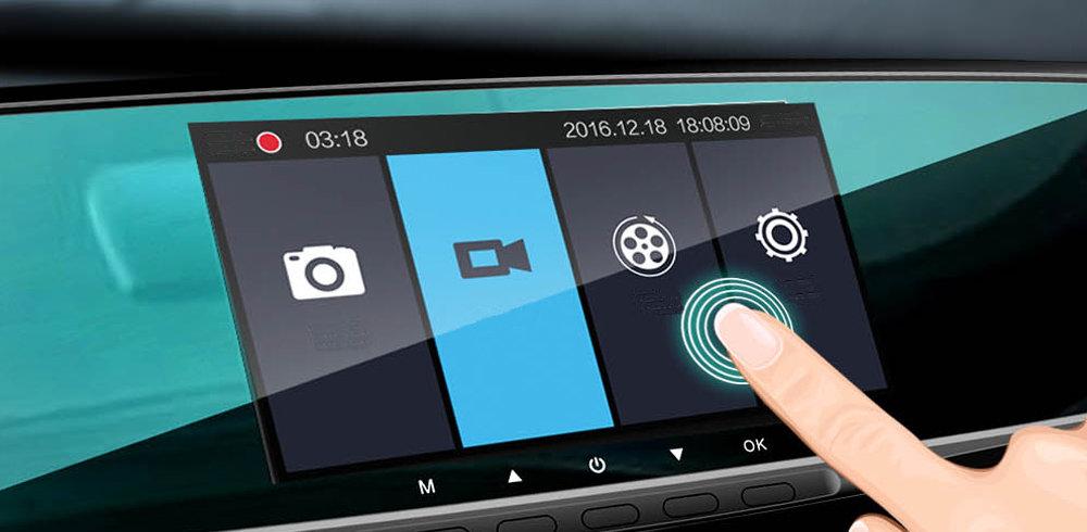 Dachcam Camera embarquée - Ampe T43 avec écran tactile et camera arrière en ligne au maroc chez Gift.ma maroc 01