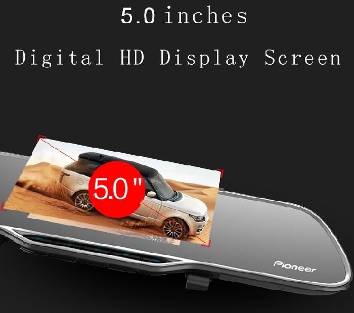 DashCam - Rétroviseur Double Caméra - Pioneer ND DVR 160 - Chez Gift.Ma Boutique des cadeaux aux meilleurs prix en ligne au Maroc