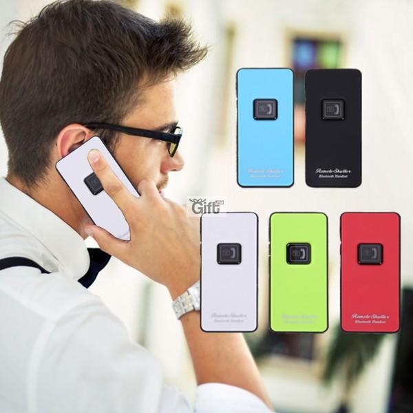 Ecouteur Bluetooth sans fil et Télécommande Déclencheur pour Iphone 7 Téléphone Android