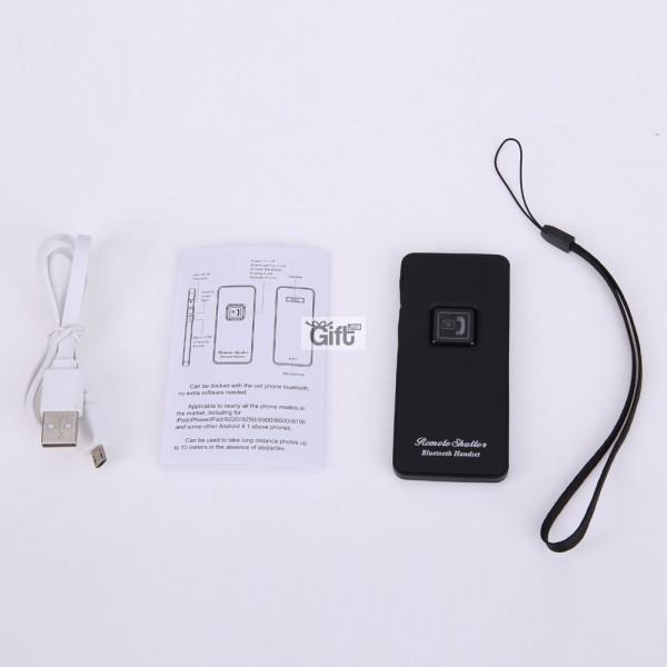 Ecouteur Bluetooth sans fil et Télécommande Déclencheur pour Mobile