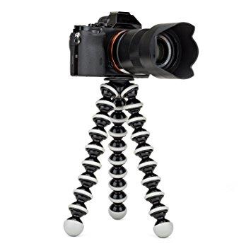 Flexible Grand Octopus trépied portable et réglable pour appareil photo SLR DSLR Gopro et Smartphone Pour toute autre appareils reflex et caméscopes Chez Gift.Ma Boutique des cadeaux aux meilleurs prix en ligne au Maroc
