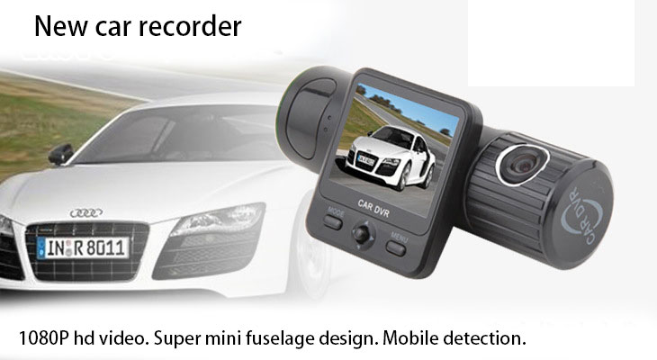 F6000 Mini Car DVR Camera Can rotate 270 Degrees Full HD 1080P Video Car Camera For Driving Recording Car dvr Detector