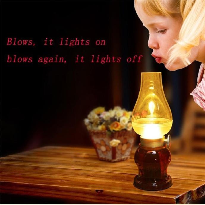 LED Lampe de table Nostalgia - REMAX Chez Gift.Ma Boutique des cadeaux aux meilleurs prix en ligne au Maroc 01