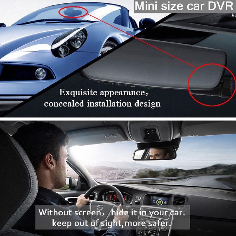 Mini Sans Fil Dash Cam DVR Moniteur APP WiFi Voiture Caméra Vidéo Enregistreur Dash cam Vision Nocturne