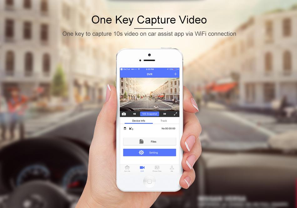Mini Dashcam 4G  Caméra Voiture DVR