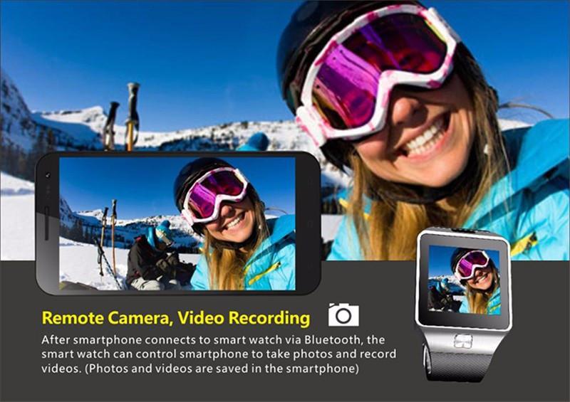 Montre GSM Bluetooth Avec Caméra Carte SIM - SmartWatch Chez Gift.Ma Boutique des cadeaux aux meilleurs prix en ligne au Maroc