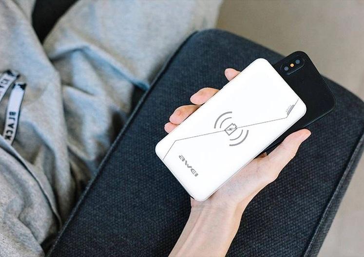 Powerbank - Sans Fil 10000mAh - AWEI - P59k Chez Gift.Ma Boutique des cadeaux aux meilleurs prix en ligne au Maroc