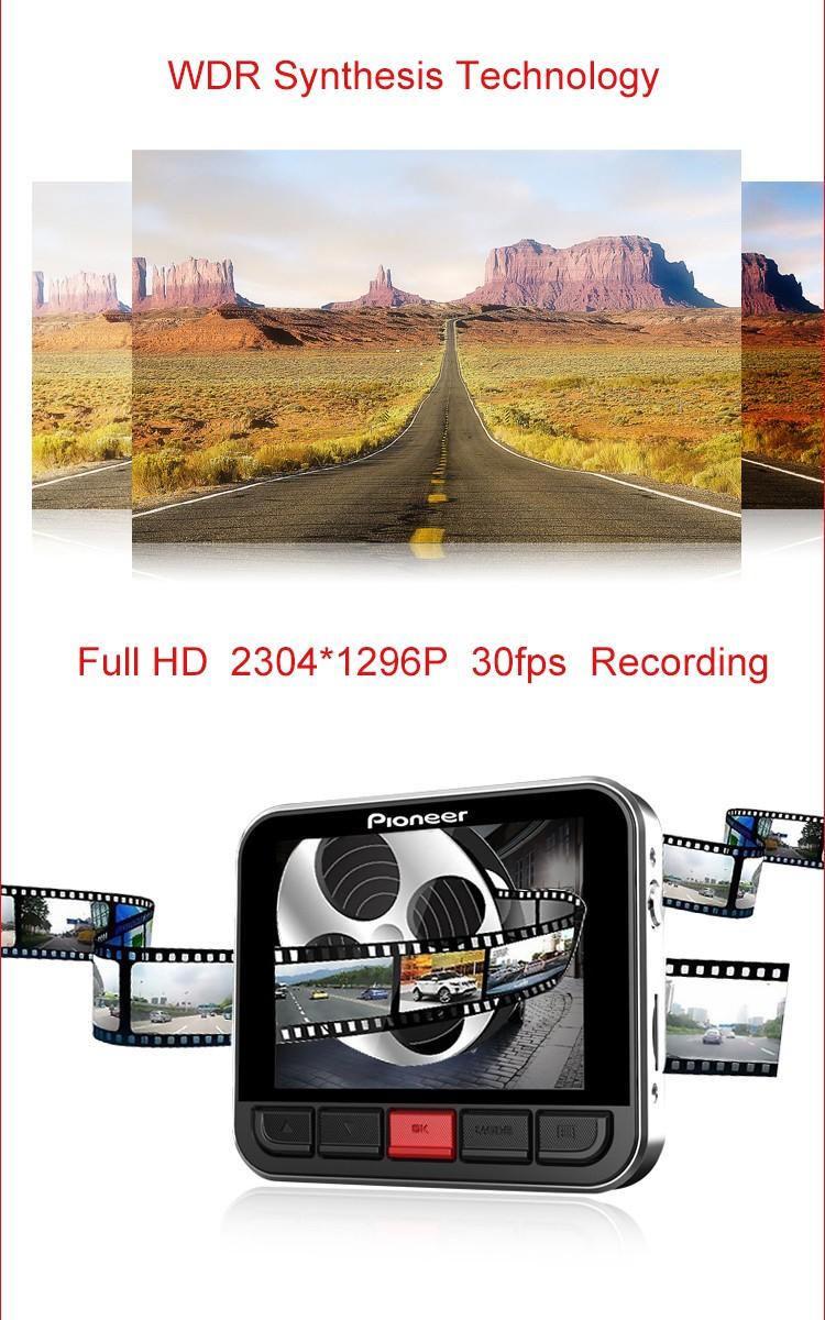 Pionnier ND DVR 130 D'origine Marque HD 1080 p Dash Cam Utilisateur Manuel chez Gift.ma Boutique des cadeaux au maroc