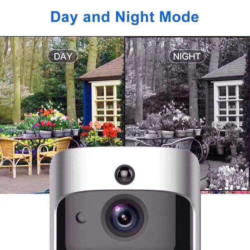 Sonnette & Caméra Vidéo 2 - 720P HD Wifi Chez Gift.Ma Boutique des cadeaux aux meilleurs prix en ligne au Maroc (2)